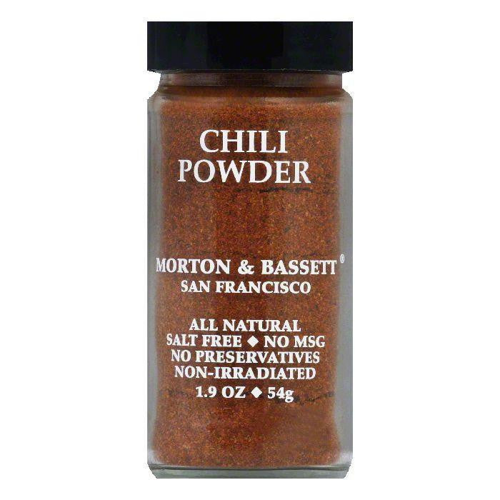 Morton & Bassett Ssnng chili pwdr, 1.9 OZ (Pack of 3)
