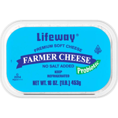 Lifeway Farmer Cheese, 16 Oz (Pack of 8)