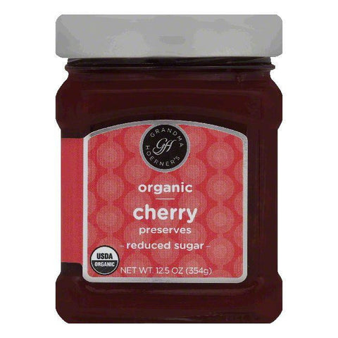 Grandma Hoerners Reduced Sugar Cherry Preserves, 12.5 OZ (Pack of 6)