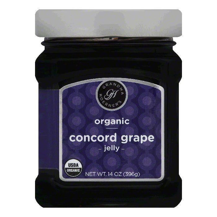 Grandma Hoerners Concord Grape Jelly, 14 OZ (Pack of 6)