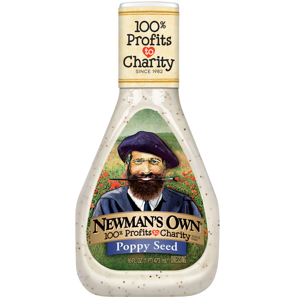 Newman's Own Poppy Seed Dressing, 16 OZ (Pack of 6)