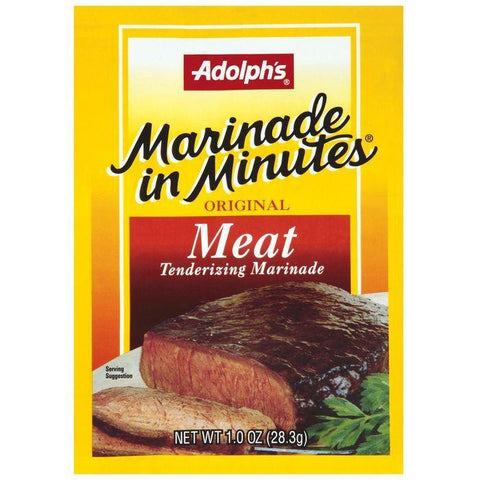 Dry Seasoning Marinade In Minutes Original Meat Tenderizing Marinade 1 Oz (Pack of 24)