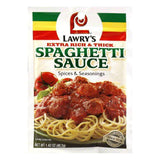 Lawry's Lawrys Spices & Seasonings Extra Rich & Thick Spaghetti Sauce, 1.5 OZ (Pack of 24)