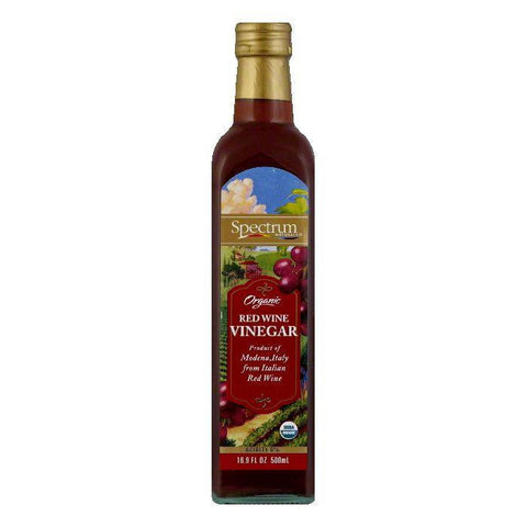 Spectrum Organic Red Wine Vinegar, 16.9 OZ (Pack of 6)