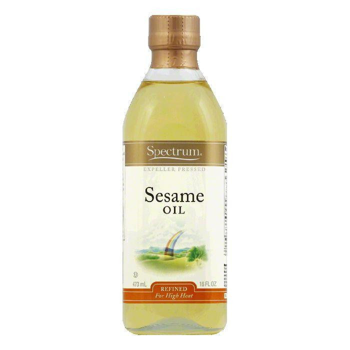 Spectrum Refined Sesame Oil, 16 OZ (Pack of 6)