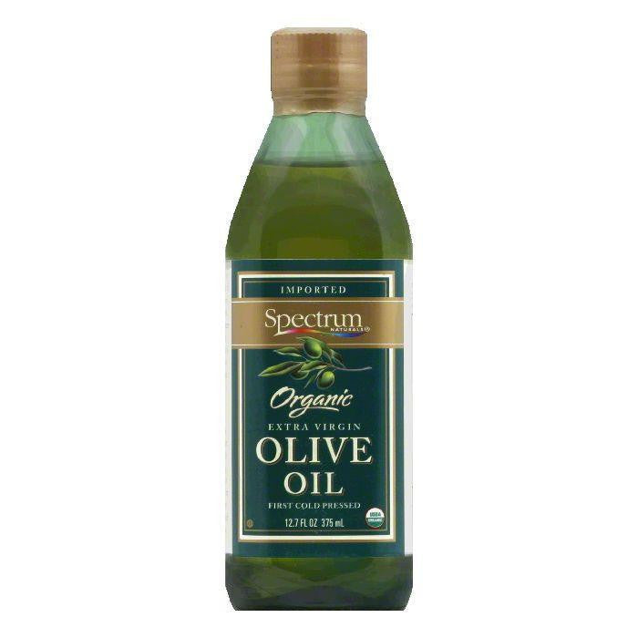 Spectrum Olive Oil Organic Extra Virgin Unrefined, 12.7 OZ (Pack of 6)