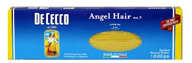 De Cecco Angel Hair Pasta, 16OZ (Pack of 20)