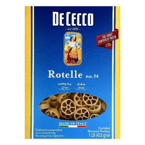 De Cecco No. 54 Rotelle, 1 lb (Pack of 12)