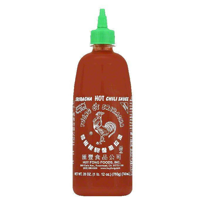Huy Fong Sriracha Chili Sauce, 28 OZ (Pack of 12)
