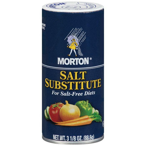 Morton Salt Substitute 3.125 oz (Pack of 12)