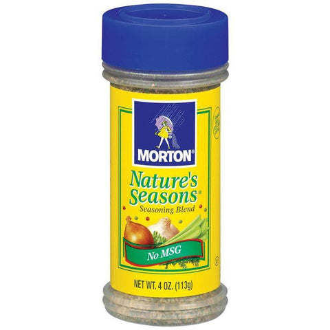 Morton Nature's Seasons 4 Oz No Msg Seasoning Blend 4 Oz Shaker (Pack of 12)