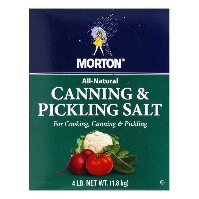 Morton Canning & Pickling Salt, 4 LB (Pack of 9)