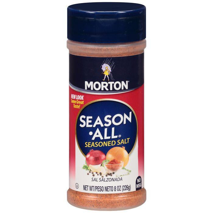 Morton Season-All Seasoned Salt 8 Oz Shaker (Pack of 12)