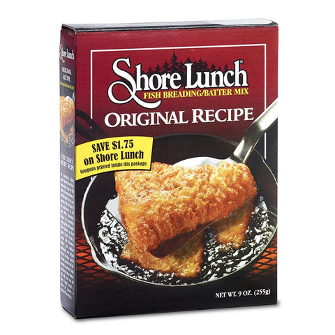 Shore Lunch Fish Breading Mix, 9 OZ (Pack of 12)