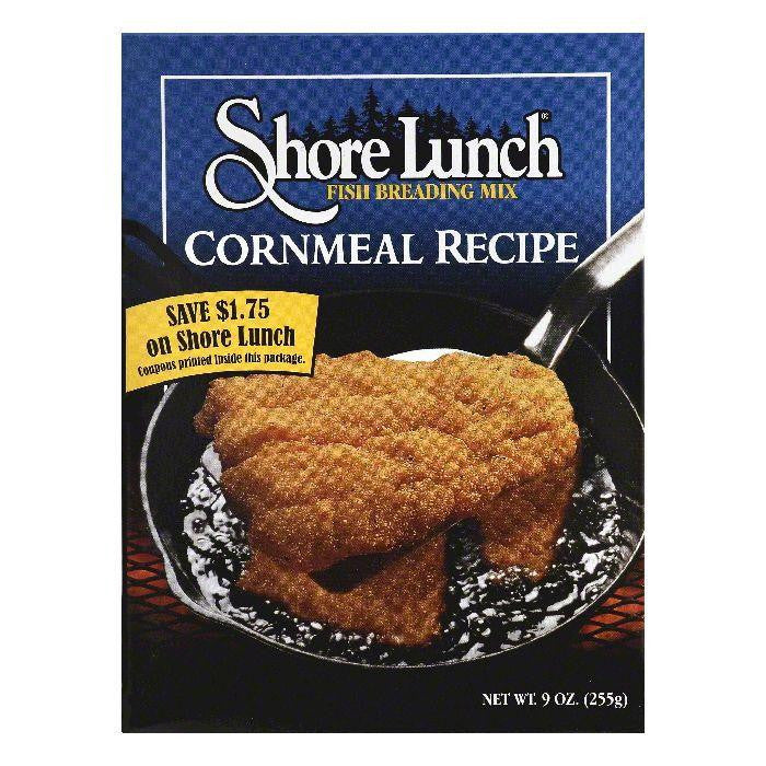 Shore Lunch Cornmeal Recipe Fish Breading Mix, 9 OZ (Pack of 10)