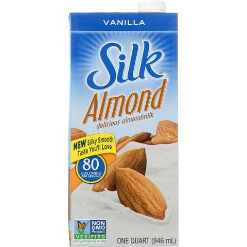 Silk Almondmilk Vanilla, 32 fl oz (Pack of 6)
