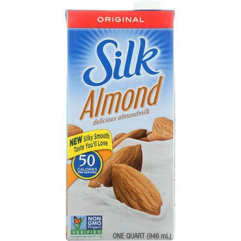 Silk Almondmilk Original, 32 fl oz (Pack of 6)