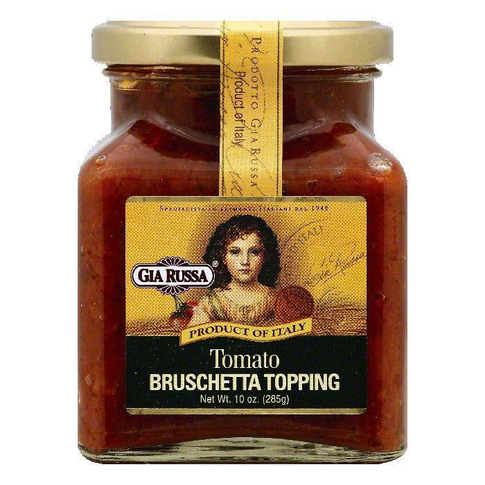 Gia Russa Tomato Bruschetta Topping, 10 OZ (Pack of 6)