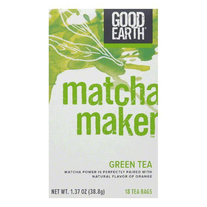 Good Earth Matcha Maker Green Tea 18 ct (Pack of 6)