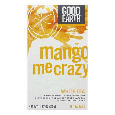 Good Earth Mango Me Crazy White Tea 18 ct (Pack of 6)