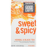 Good Earth Sweet & Spicy Herbal & Black Tea 18 ct (Pack of 6)