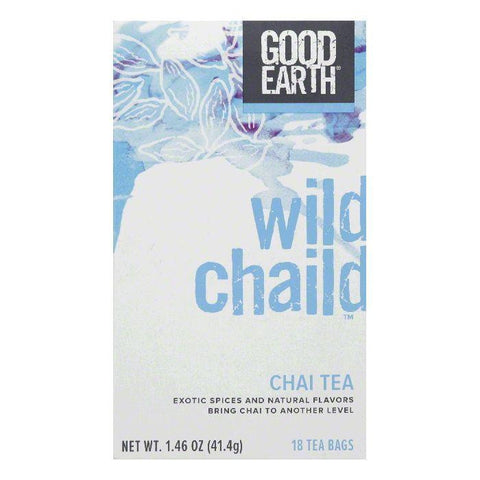 Good Earth Wild Chaild Chai Tea 18 ct (Pack of 6)