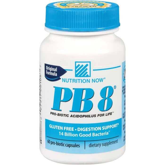 Nutrition Now PB 8 Original Formula Pro-Biotic Capsules 60 ct. Plastic