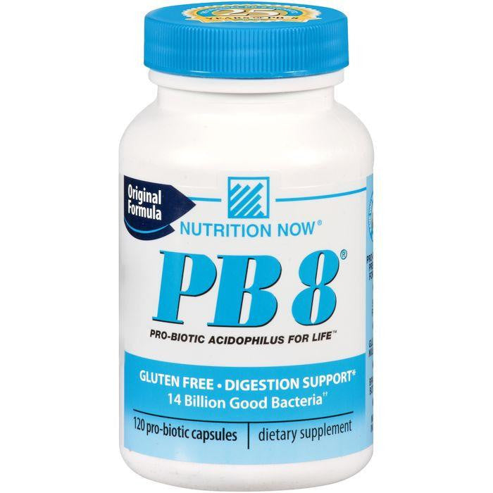 Nutrition Now PB 8 Original Formula Pro-Biotic Capsules 120 ct. Plastic