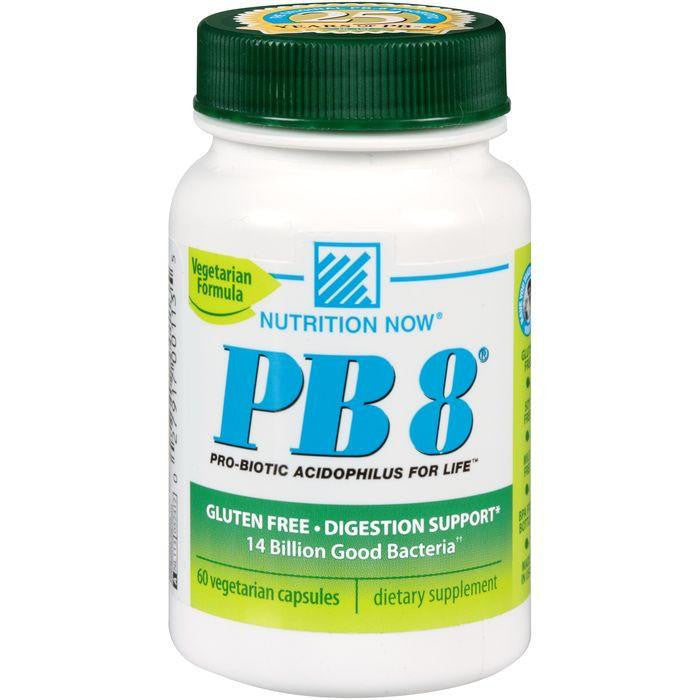 Nutrition Now PB 8 Vegetarian Formula Pro-Biotic Capsules 60 ct. Plastic