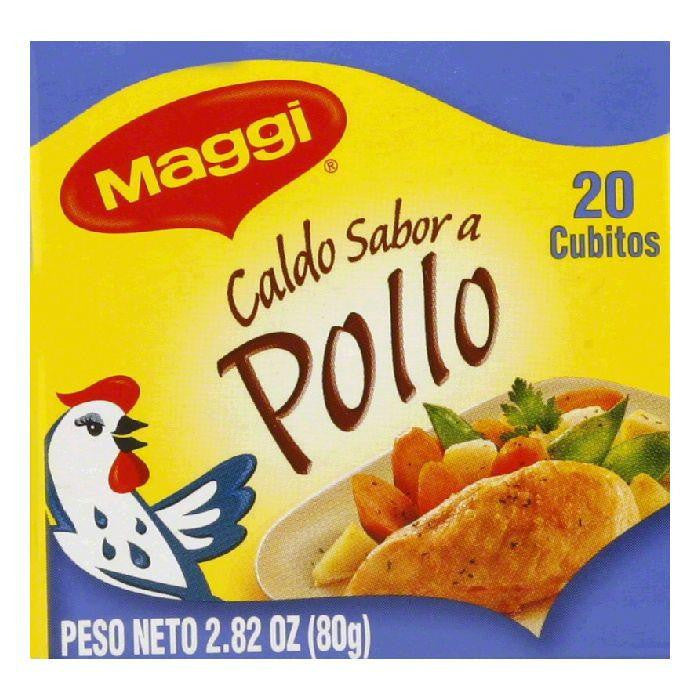 Maggi Chicken Bouillon Cube, 2.82 OZ (Pack of 12)