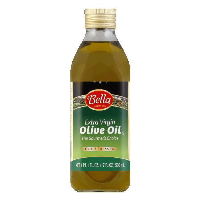 Bella Extra Virgin Olive Oil, 17 OZ (Pack of 8)