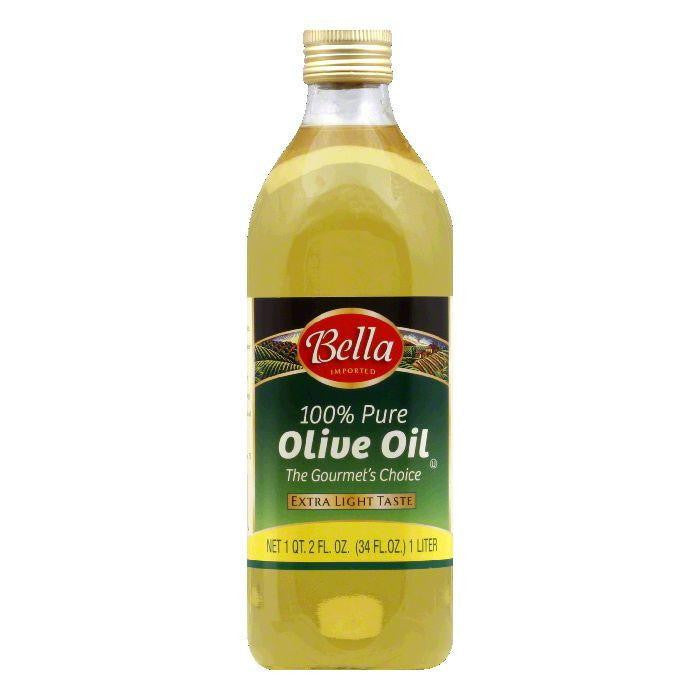 Bella Pure Olive Oil, 34 OZ (Pack of 6)