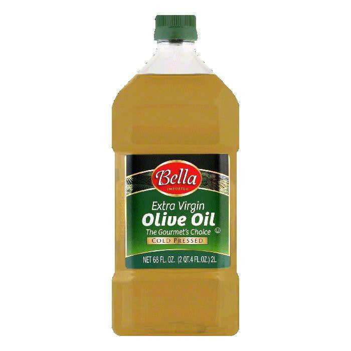 Bella Extra Virgin Olive Oil, 68 OZ (Pack of 6)