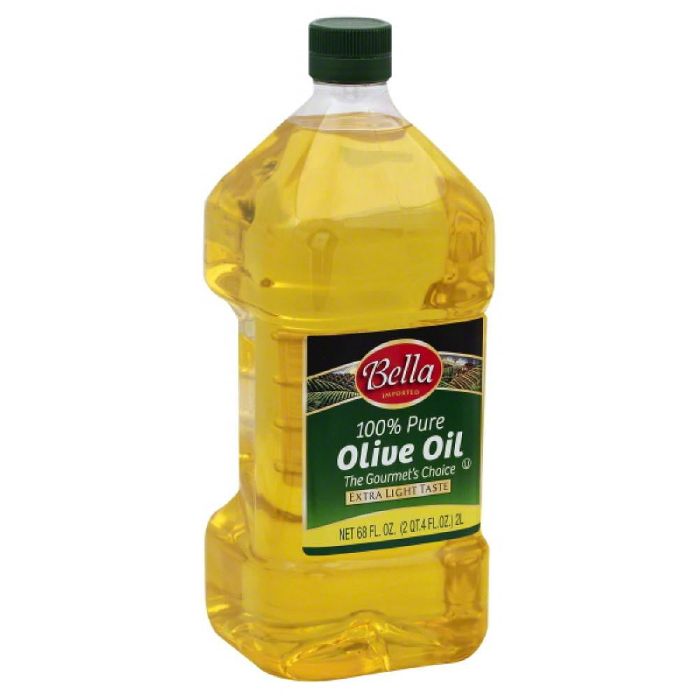 Bella 100% Pure Olive Oil, 68 Oz (Pack of 6)