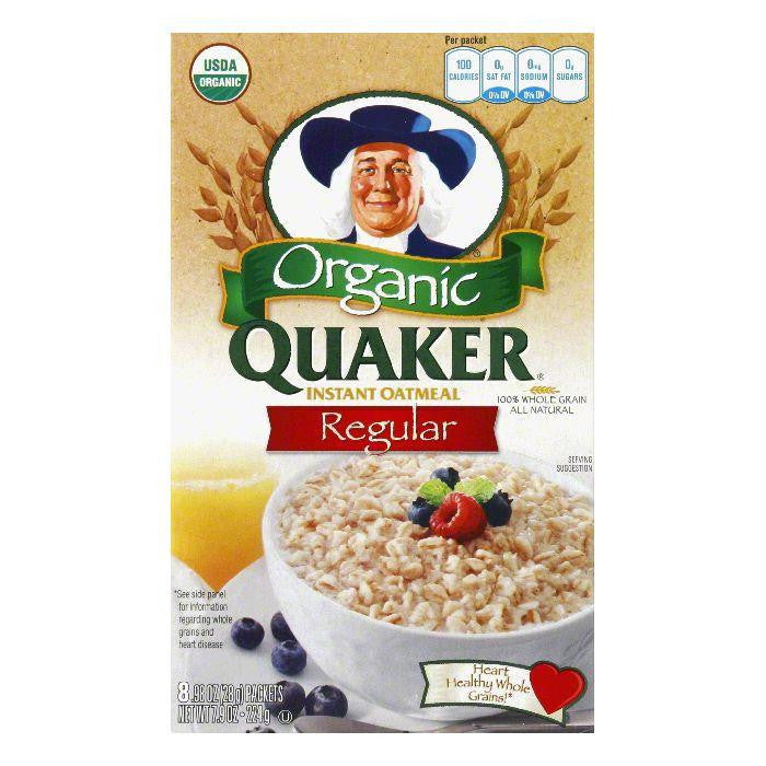 Quaker Original Instant Oatmeal, 7.9 OZ (Pack of 6)
