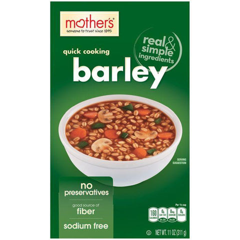 Mother's Quick Cooking Barley 11 Oz (Pack of 12)