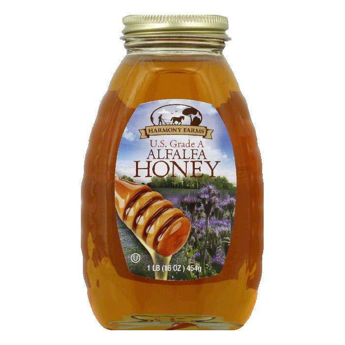 Harmony Farms Alfalfa Honey, 16 OZ (Pack of 6)