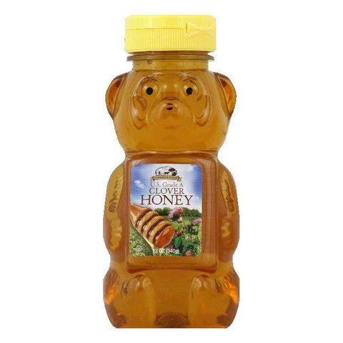 Harmony Farms Clover Honey, 12 OZ (Pack of 12)