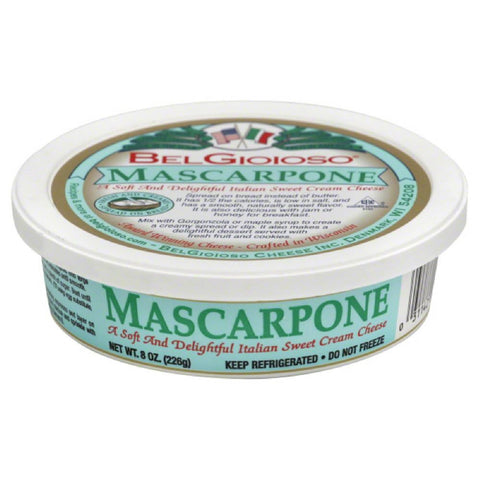 BelGioioso Mascarpone, 8 Oz (Pack of 12)