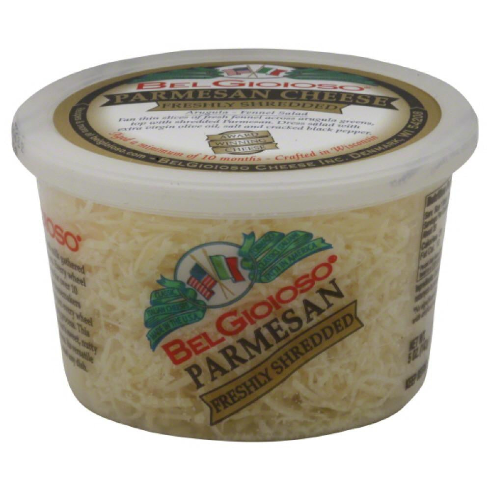 BelGioioso Freshly Shredded Parmesan, 5 Oz (Pack of 12)