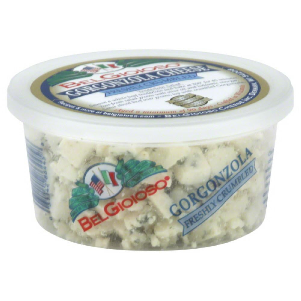 BelGioioso Gorgonzola Freshly Crumbled Cheese, 5 Oz (Pack of 12)
