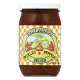 Tony Packo Pickle & Pepper Relish, 16 OZ (Pack of 6)