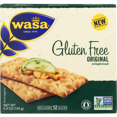 WASA ORIGINAL CRISPBREAD 5.4 OZ (Pack of 10)