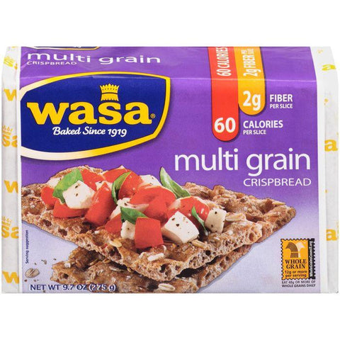 Wasa Multi Grain Crispbread 9.7 Oz (Pack of 12)