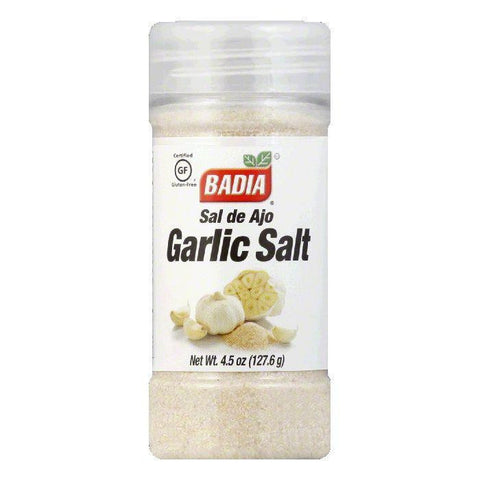 Badia Salt Garlic, 4.5 OZ (Pack of 8)