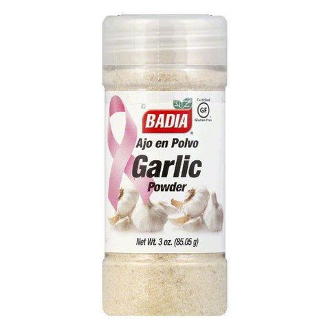 Badia Garlic Powder, 3 OZ (Pack of 12)