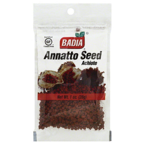 Badia Annatto Seed, 1 Oz (Pack of 12)