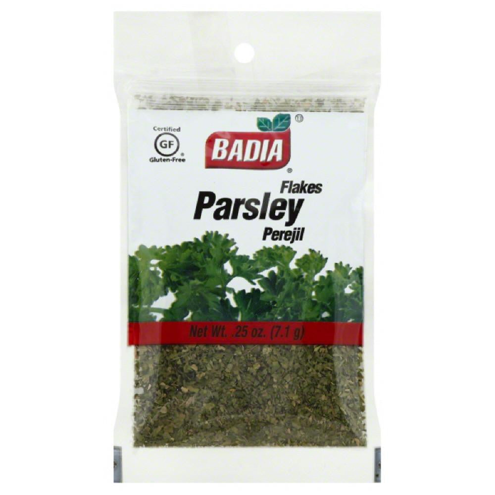 Badia Flakes Parsley, 0.25 Oz (Pack of 12)
