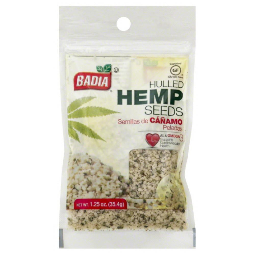 Badia Hulled Hemp Seeds, 1.25 Oz (Pack of 12)