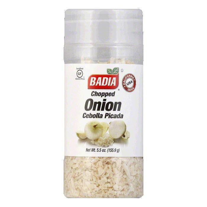 Badia Onion Chopped, 5.5 OZ (Pack of 12)